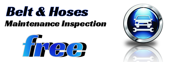 Belts - Hoses Maintenance Inspection Coupon Owatonna, MN